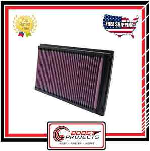K&N Replacement Air Filter Fits NISSAN / Fits INFINITI / TOYOTA * 33-2031-2 *
