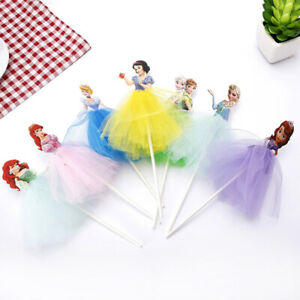 Disney Princess Frozen Large Cake/ Cupcake Toppers Girls Boys Party Decorations