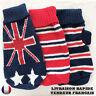 Pull en laine rayé ou motif drapeau pour petit chien ou chat NEUF