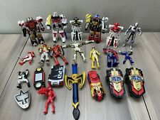 Lot of Bandai Mighty Morphin Power Rangers Figures  Morpher Zord Parts Lot
