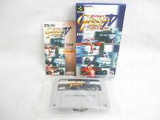 HUMAN GRAND PRIX IV 4 F1 DREAM BATTLE Item ref/C Super Famicom Nintendo sf