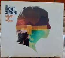 THE ROCKET SUMMER - LIFE WILL WRITE THE WORDS [DIGIPAK] NEW & SEALED CD