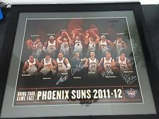 2011-2012 Phoenix Suns Team Signed Framed Print