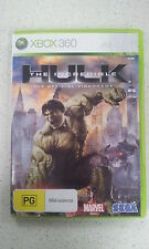 The Incredible Hulk The Offical Videogame Xbox 360 PAL Version