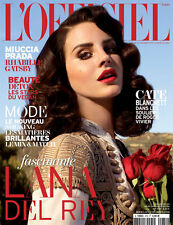 LANA DEL REY L'OFFICIEL PARIS MAGAZINE MARCH 2013 NEW SEALED FRENCH MAG FRANCE