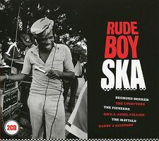 RUDE BOY SKA - 2 CD BOX SET - DESMOND DEKKER, THE PIONEERS & MORE