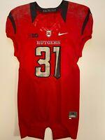 Rutgers Football Game Worn Nike Jersey Big Ten NCAA F.A.M.I.L.Y.