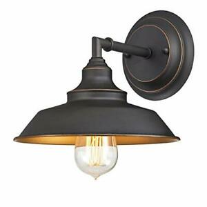Westinghouse Lighting 6344800 One-Light Indoor Finish with Highlights Iron Hi...