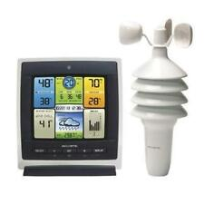 Acurite Pro Color Weather Station With Wind Speed - 330 Ft - Desktop, (00589)