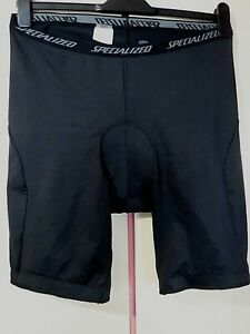 Mens SPECIALIZED Padded Liner Shorts  ..  XL