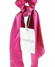 Hair Accessories Pink Satin Scrunchie Scarf From Untangled