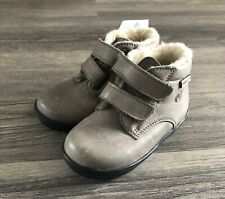 BRAND NEW NATURINO RAIN STEP FUR LINED BOOTS INFANT SIZE 4.5 Uk 21 Eur
