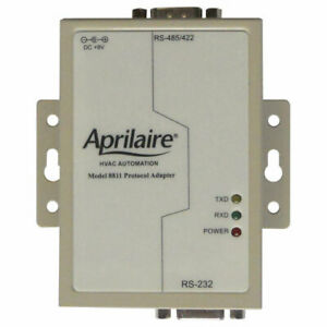 Aprilaire Protocol Adapter, RS232-to-RS485 (8811)