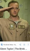 THE BRINK/ERIC LADIN/SCREEN WORN WARDROBE PATCHES