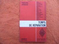 TEMPS DE REPARATION R.S.3275  RENAULT utilitaires Galion/Estafette janvier 1965