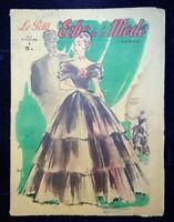 Le Petit Echo de la Mode année 1948, Ancien magazine Français N°5