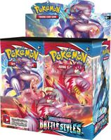 Pokemon TCG: Battle Styles Factory Sealed Booster Box, 36 Booster Packs