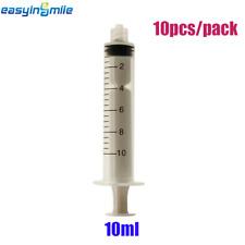 [USA]10 ml Dental Luer Lock Slip Tip Syringes Non-Sterile & Scale Disposable 10x
