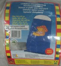 Sacco a pelo per bambini Bruno bear 160*60 cm 100% Nylon campeggio sport viaggio