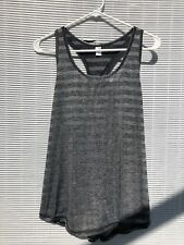 NWT WOMEN'S SPALDING SPEED-DRI GRAY STRIPE TANK TOP SIZE L MSRP 32.00