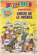 MORTADELO ESPECIAL nº 172: CHICOS DE LA PRENSA con Ric Hochet.