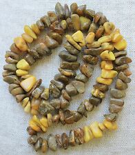 Antique Old Multicolor Natural Baltic Amber Necklace 53,7 Gr.