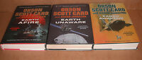 First Formic War Vol.1,2,3 by Orson Scott Card, Aaron Johnston Hardcover NEW
