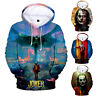 Men Women Sweatshirt Hoodie Movie JOKER 3D  Print Jacket Coat Pullover Tops