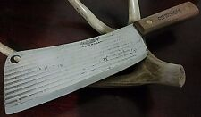 Old Hickory Cleaver Hunting Bowie Knife Full Tang Fixed Blade !