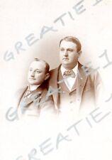 "cabinet card man two men Louis""Commodre""Kuehnle?Applegate's Atlantic City,N.J.3"