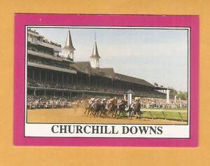 1991 Kentucky Derby Star Cards Burgoo King Riva Ridge Undbridled S6B8