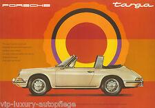 Porsche Poster 911 Targa 1967  Reprint 2013  Größe: 42 x 59,5 cm