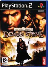 Gioco PS2 Forgotten Realms - Demon Stone - Atari Sony Playstation 2 Usato