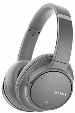 Sony WH-CH700N Wireless Bluetooth Noise Canceling Over-the-Ear Headphones gray