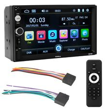 "7"" Double 2-Din Android 4.1 Car MP5 Player Touch Screen Stereo Radio WIFI Camera"