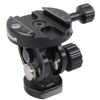 2D Metal Ball Head+Clamp for Camera Tripod Monopod Ballhead &Quick Release Plate