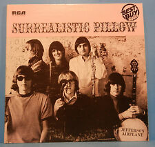 JEFFERSON AIRPLANE SURREALISTIC PILLOW LP 1967 RE '80 GREAT COND! VG+/VG+!!B