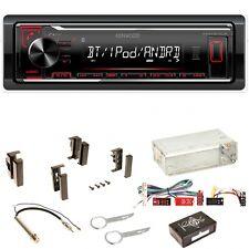 Kenwood KMM-BT204 USB Bluetooth FLAC Einbauset für Audi A4 B5 A6 4B C4 A8