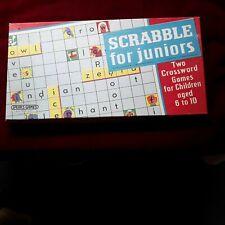 VINTAGE RETRO JUNIOR SCRABBLE Board Game By Spears Games Juniors 1958 VGC