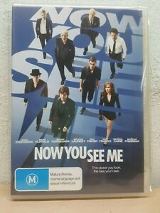 Now You See Me DVD - Isla Fisher, Jesse Eisenberg, Mark Ruffalo