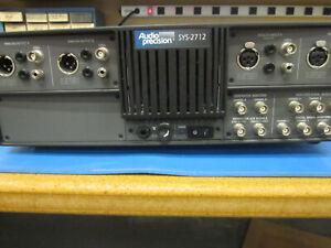 Audio Precision SYS-2712 System Analog