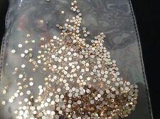 Sombra de oro SS6 Genuino Cristal Cristales de Arte en Uñas Gel/Acrílico prolija
