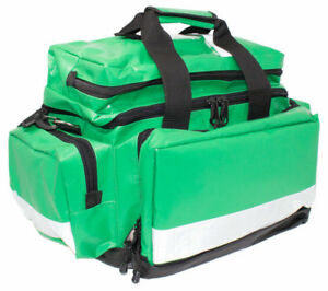 Wipe Down Emergency First Aid  Bag Large Green Empty Or Kitted *FREE PRINTING*