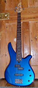 Yamaha RBX 170 blue bass guitar