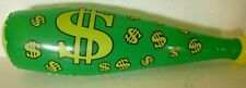 "Inflatable Toy Bat money Green 16"" long Bones Pictures & Toys 2011 Boys & Girls"