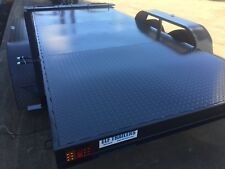 Car Trailer brand new small Tandem axle 12X5.6FT 2T ATM INC RAMPS ALSO14FT 15FT