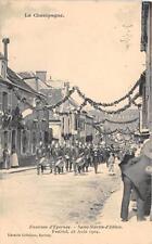 CPA 51 ENV.EPERNAY SAINT MARTIN D'ABLOIS FESTIVAL DU 28 AOUT 1904