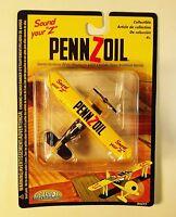 Diecast Pennzoil Stearman Plane / Biplane - 4 Inches
