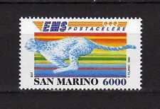 14395) SAN MARINO 1995 MNH** Posta Celere - Ghepardo