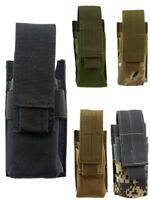 Tactical Flashlight Pouch Case Bag Holster for Hiking Camping Sports